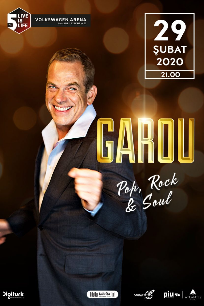 Garou – Pop, Rock & Soul